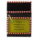 101 blessings and No. 1 Teacher mug package-469