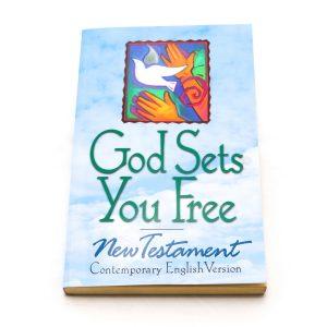 "CEV N.T.God Sets You Free"" P.B.""-0"