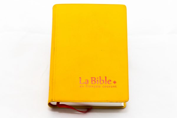 French Bible FCDC32 Yellow 1004-0