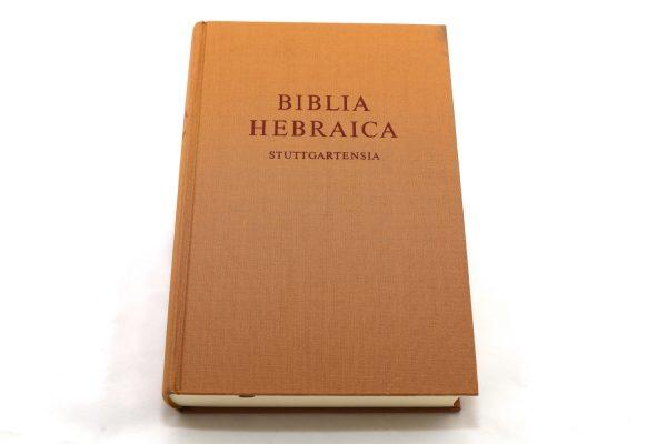 Hebrew Bible(Hebraica Stuttgart)5218-0