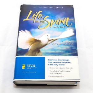 NIV LIFE IN SPIRIT BIBLE H/C.-0