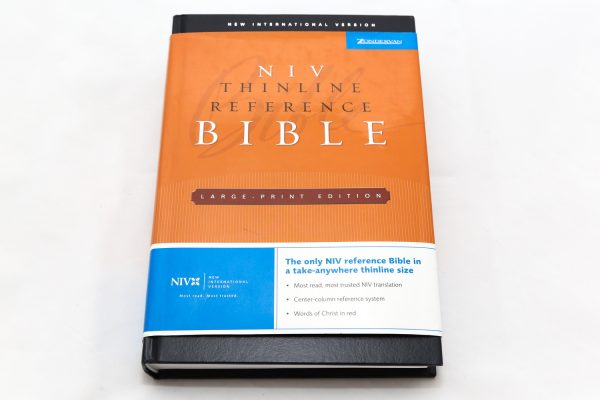 NIV THIN Ref L/P Bible HC-0