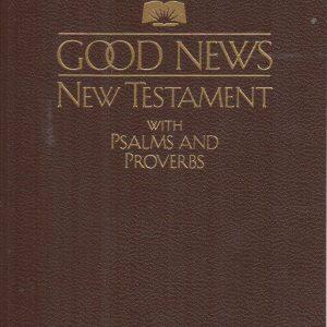 Good News New Testament/Psalms/Proverbs,pocket-0