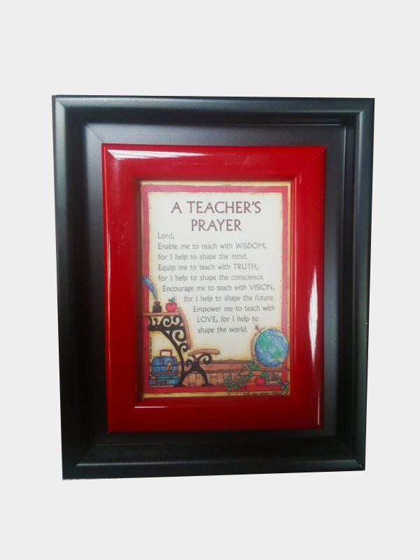 A teacher's prayer - desk frame-0