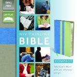 Thinline Bible Compact NIV Surf/Mint-554