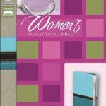NIV women's devotional Bible - Turqoise/Carribbean-0