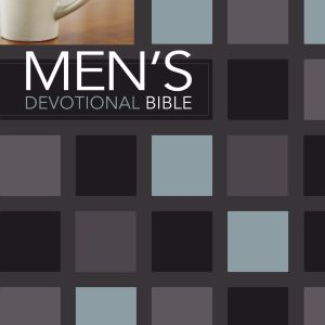 Niv Men's Devotional Bible Hardcover jacketed-0