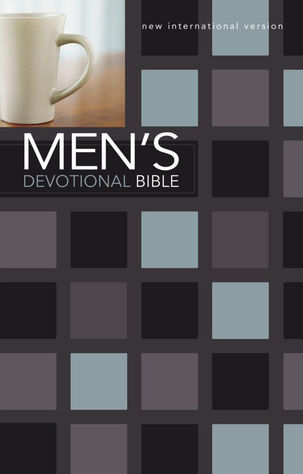 Niv Men's Devotional Bible Hardcover jacketed-0