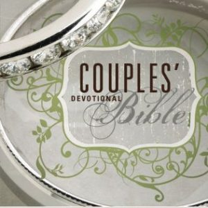Niv Couple's Devotional Bible Hardcover Jacketed-0