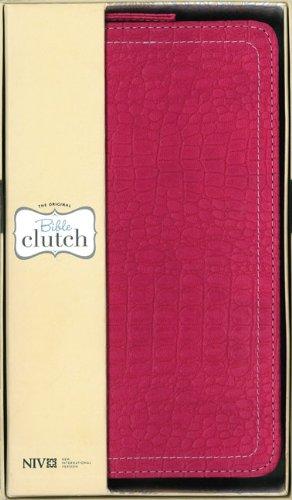 NIV Bible Clutch Hot Pink-523