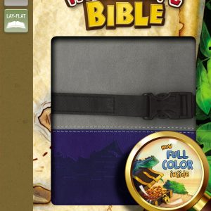 NIV Adventure Bible - Gray/Blue-0
