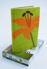 NIV Bloom Collection Bible - Compact / Tiger lily-578