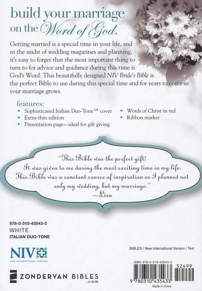NIV Bride's Bible-496