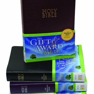 NIV Gift & Award Bible Black-0