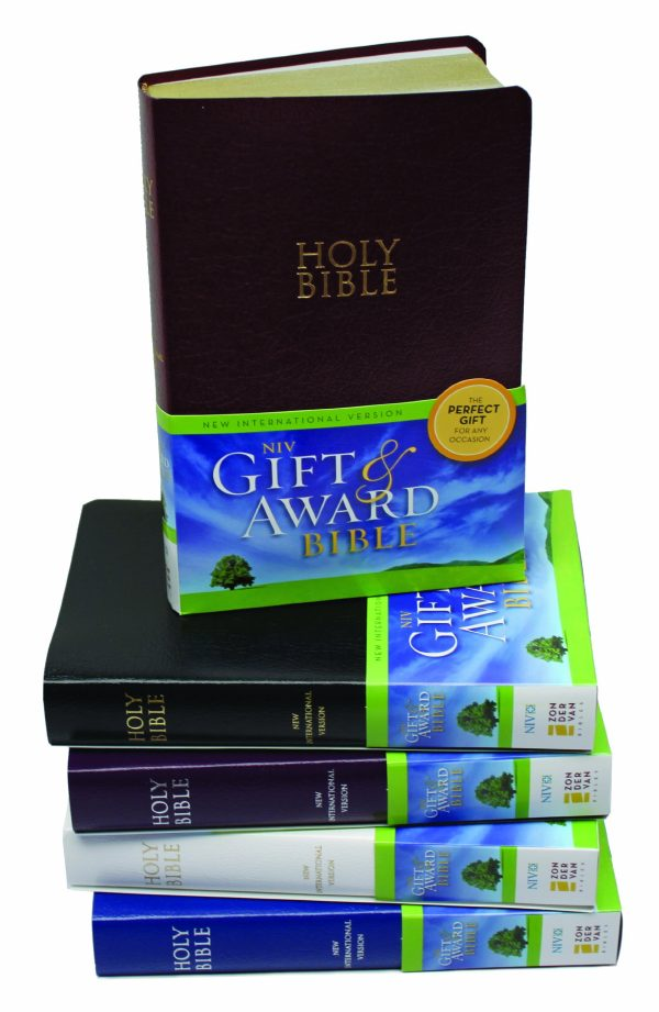 NIV Gift & Award Bible Blue-0