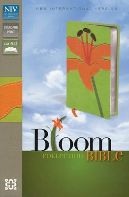 NIV Bloom Collection Bible - Compact / Tiger lily-493