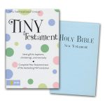 Niv Tiny New Testament Blue-0