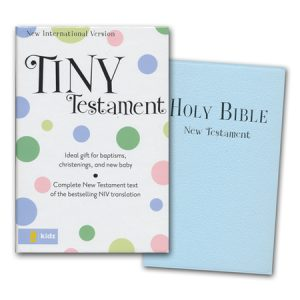 Niv Tiny New Testament Blue-0