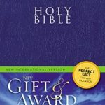 NIV Gift & Award Bible Blue-509