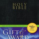 NIV Gift & Award Bible Black-500