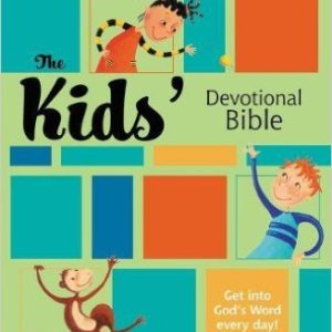 Kid's Devotional Bible NIRV HardCover-0