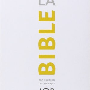 La Bible TOB : Traduction oecuménique avec introductions, notes essentielles, glossaire-0