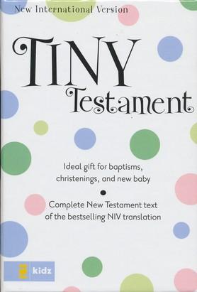 Niv Tiny New Testament Blue-593