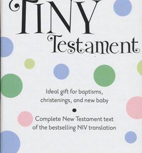 NIV Tiny Testament White-0