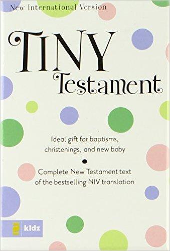 Niv Tiny New Testament Bible Pink -0