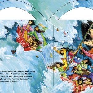 """Carry Me"" Puzzel Series - Jesus Calms the Storm-629"
