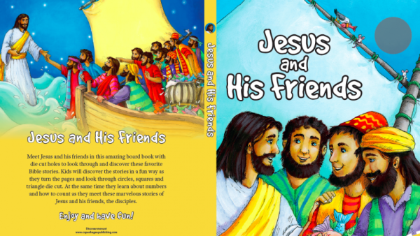 Jesus and His Friends-0