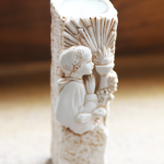 first communion candle-0
