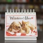 Whiskers and Paws calendar