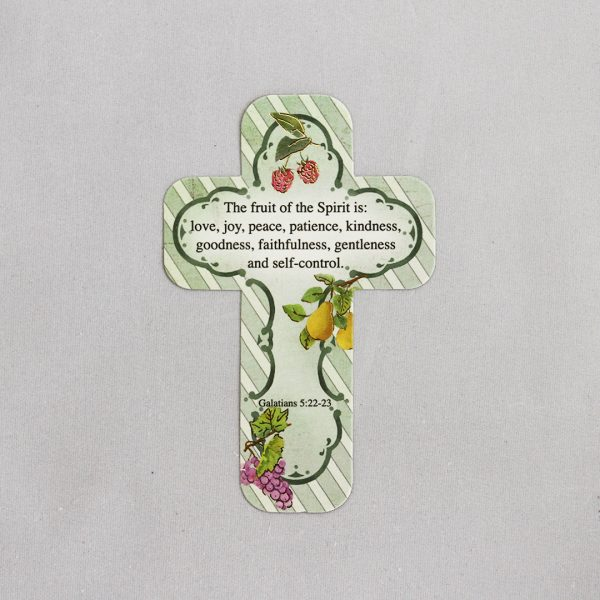 Cross shaped Bookmarks (4 designs)-927