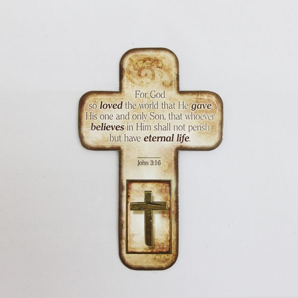 Cross shaped Bookmarks (4 designs)-931