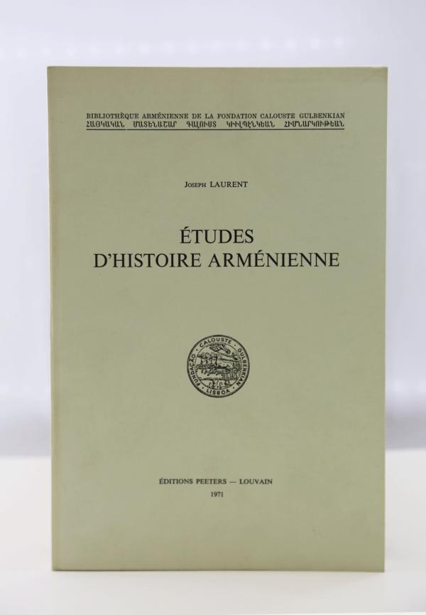 ETUDES D'HISTOIRE ARMENIEN-0