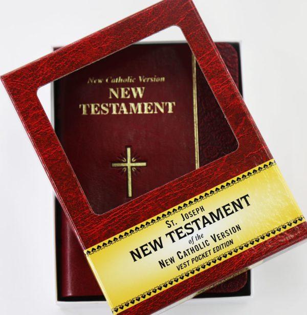 St. Joseph NCV New Testament (Vest Pocket)-0