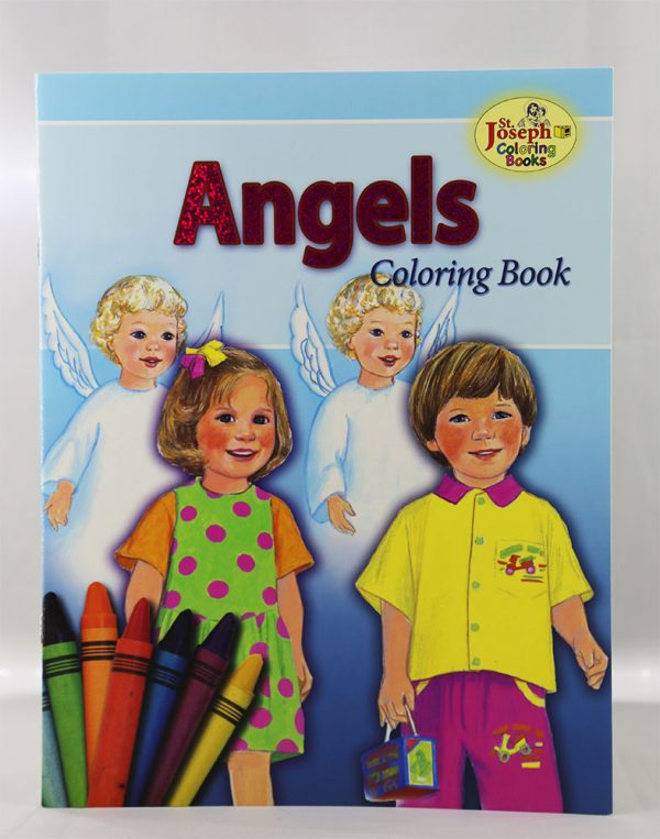 Angels Coloring Book-0