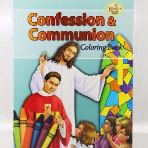 Confession & Communion Coloring Book -0
