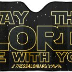 May the Lord be With you - sunshade-0