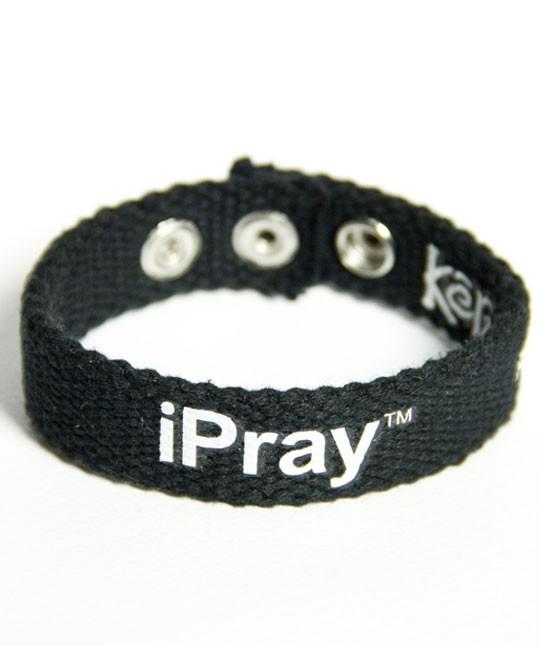 IPRAY FAITH GEAR CANVAS BRACELET-0