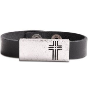 BOX CROSS BRACELET-0