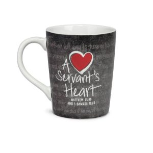A SERVANT'S HEART CERAMIC MUG-0