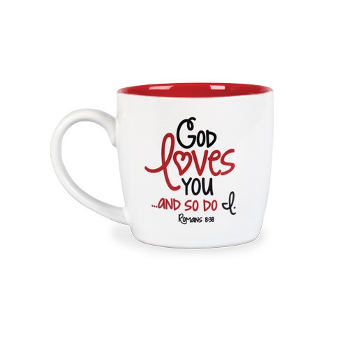 GOD LOVES YOU AND SO DO I CERAMIC MUG-0