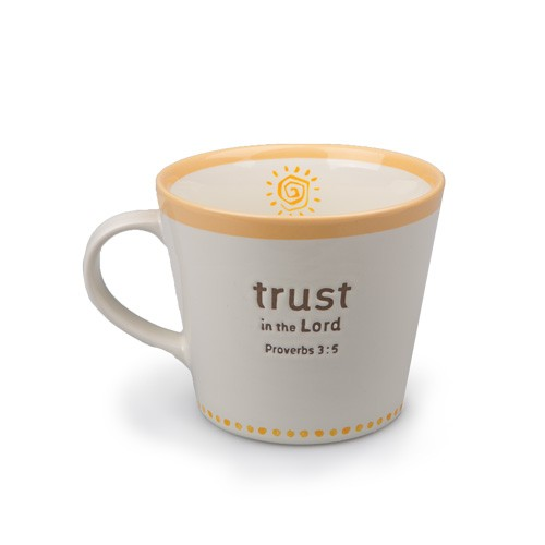 TRUST STATEMENTS CERAMIC MUG-0