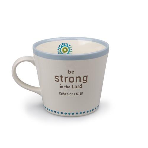 BE STRONG STATEMENTS CERAMIC MUG-0