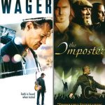 THE WAGER / THE IMPOSTER - DOUBLE FEATURE DVD-0