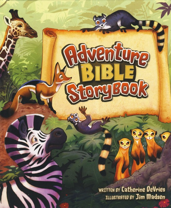 ADVENTURE BIBLE STORYBOOK WITH BIBLE COVER PACK-0