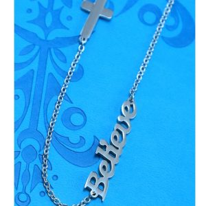 BELIEVE NECKLACE-0