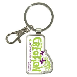 Care for Creation - Epoxy Keyring-0